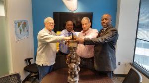 DRC Governor Gentiny Ngobila Mbaka Gift to AgriSmart