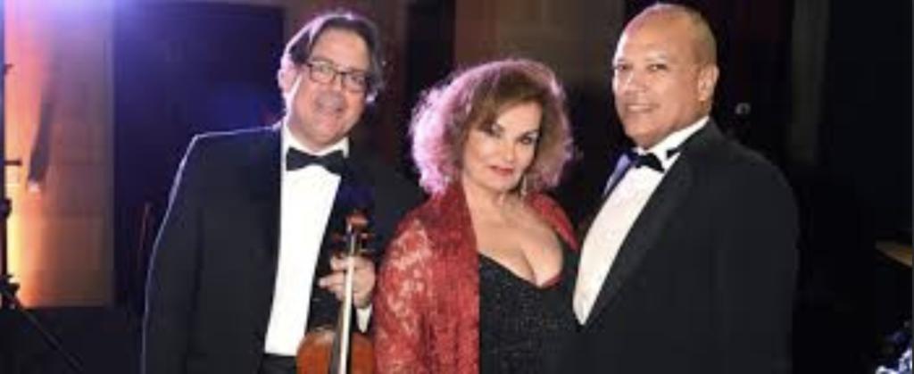 Violinist Jose Cueto, Soprano Jacqueline Neimat, and Pianist Jose Ramost-Santana - H David Meyers Society of the Cincinnati Concert
